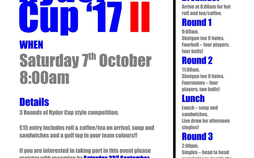 Ryder Cup Mark II