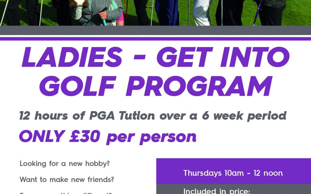 Ladies – Get Into Golf